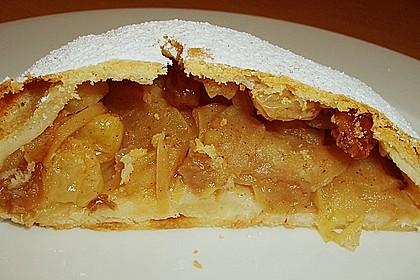 Topfenteig - Apfelstrudel 10