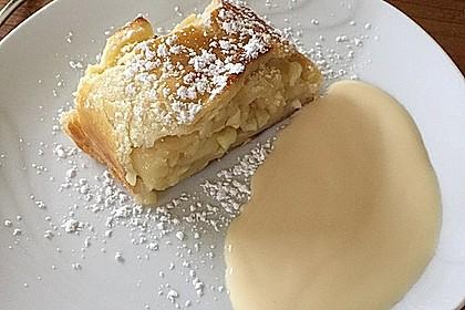 Topfenteig - Apfelstrudel 2