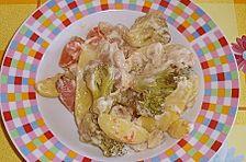Kartoffelpfanne aus dem Ofen