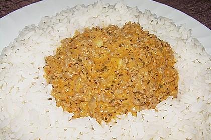 Thailändisches Hackfleisch mit Basilikum