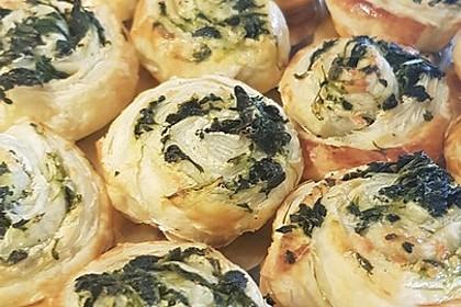 Blätterteig-Spinat-Schnecken 26