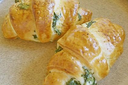 Blätterteig - Spinat - Schnecken 15