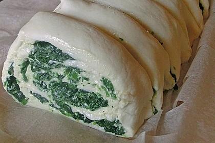 Blätterteig - Spinat - Schnecken 32
