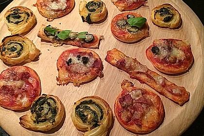 Blätterteig-Spinat-Schnecken 44