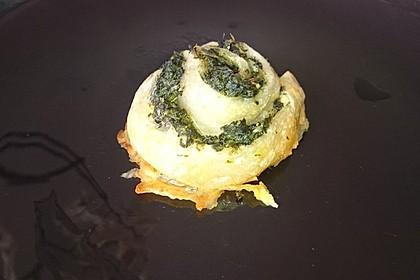 Blätterteig-Spinat-Schnecken 38