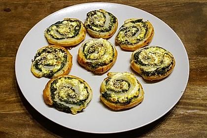 Blätterteig-Spinat-Schnecken 6