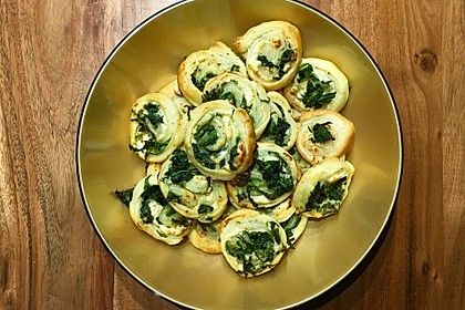 Blätterteig-Spinat-Schnecken 28