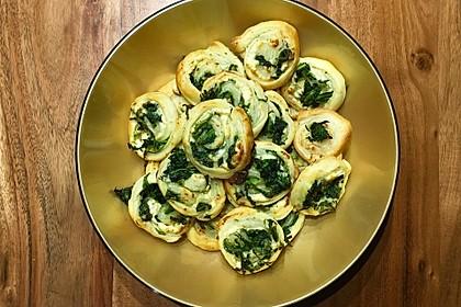Blätterteig-Spinat-Schnecken 30