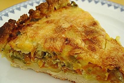 Porree - Möhren - Kuchen