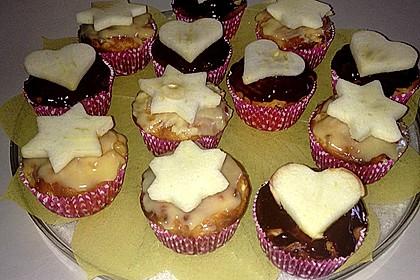 Feine Apfel - Muffins 12