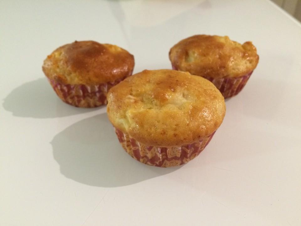 feine apfel muffins rezept mit bild von mon ti82. Black Bedroom Furniture Sets. Home Design Ideas