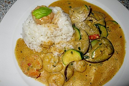 Rotes Thai Curry 1