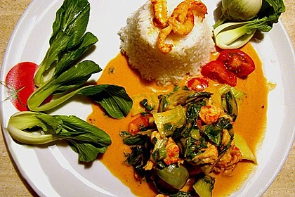 Rotes Thai Curry 0