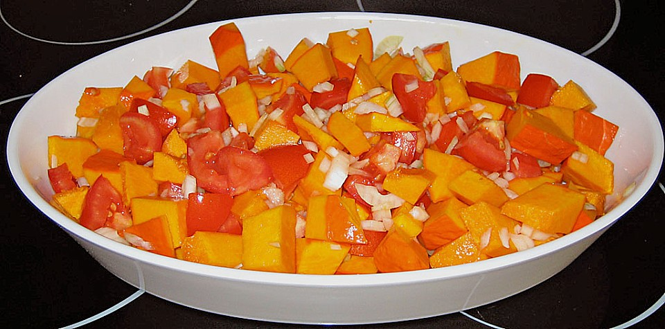 fruchtig - pikantes gemüsecurry mit tomaten und hokkaido - kürbis ... - Kürbissuppe Rezept Chefkoch