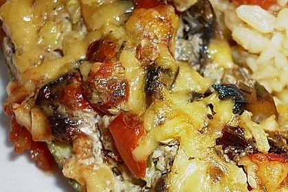 Zucchini - gefüllt und überbacken 4