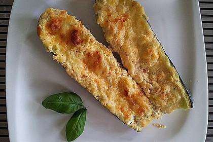 Zucchini - gefüllt und überbacken 2