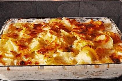 Kohlrabi-Kartoffel Auflauf 6