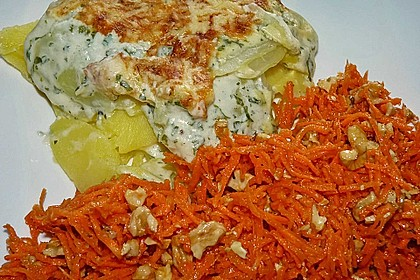 Kohlrabi-Kartoffel Auflauf 3