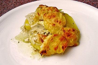 Kohlrabi-Kartoffel Auflauf 1