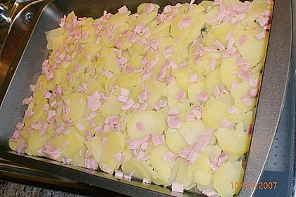Kohlrabi-Kartoffel Auflauf 7