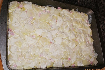 Kohlrabi-Kartoffel Auflauf 10