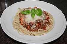 Uschis Spaghetti Bolognese