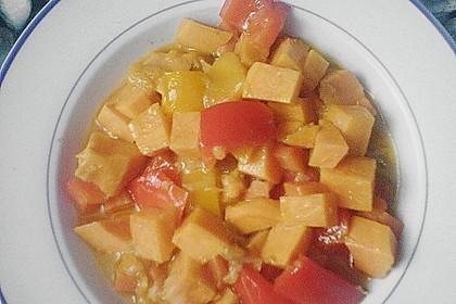 Süßkartoffel - Curry 34