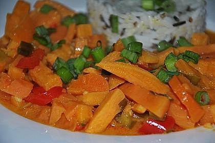 Süßkartoffel - Curry 8