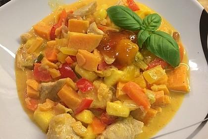 Süßkartoffel - Curry 12
