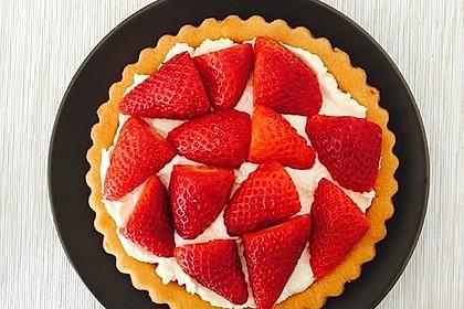 Torteletts mit Mascarpone - Erdbeer - Belag 3