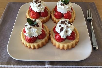 Torteletts mit Mascarpone - Erdbeer - Belag 7