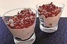 Birnen - Quark - Dessert