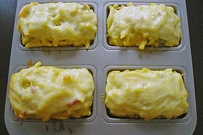 Spätzle - Muffins mit Salat 21