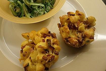 Spätzle - Muffins mit Salat 23