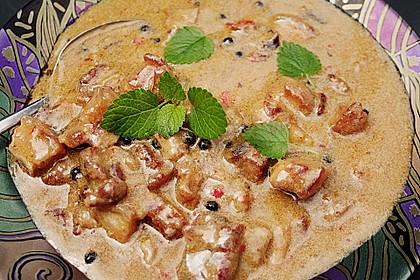 Dickes rotes Thai - Curry mit Schweinebauch und grünem Pfeffer 3