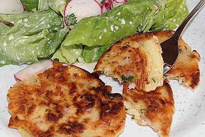 Kräuter-Bärlauch Pfannkuchen