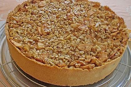 Apfelkuchen mit Walnusscreme 13