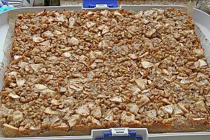 Apfelkuchen mit Walnusscreme 29