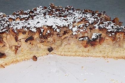 Apfelkuchen mit Walnusscreme 72