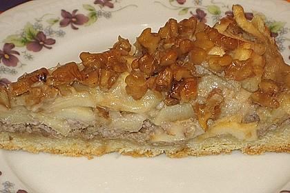 Apfelkuchen mit Walnusscreme 25