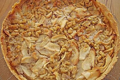 Apfelkuchen mit Walnusscreme 23