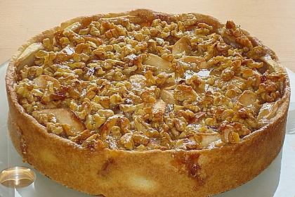 Apfelkuchen mit Walnusscreme 2