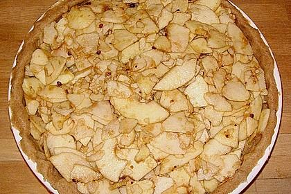 Apfelkuchen mit Walnusscreme 50