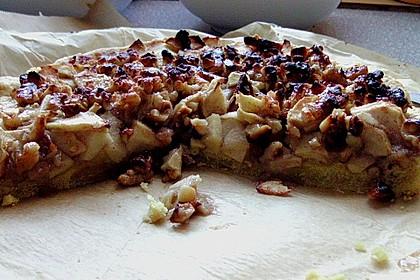 Apfelkuchen mit Walnusscreme 66