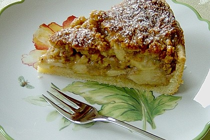 Apfelkuchen mit Walnusscreme 33