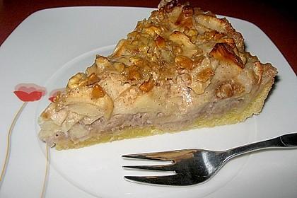 Apfelkuchen mit Walnusscreme 19