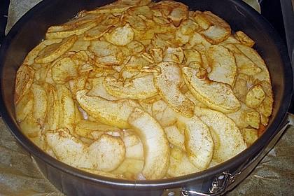 Apfelkuchen mit Walnusscreme 71