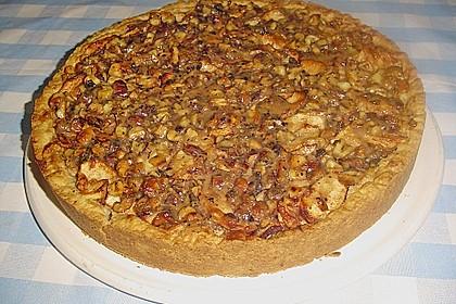 Apfelkuchen mit Walnusscreme 32