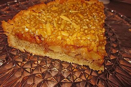 Apfelkuchen mit Walnusscreme 49