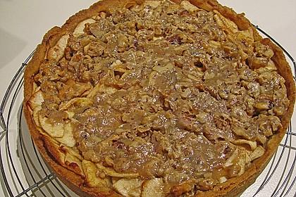 Apfelkuchen mit Walnusscreme 18